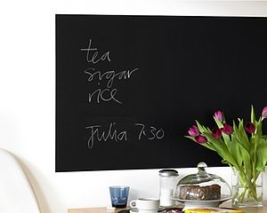 Rectangular Blackboard Sticker - noticeboards