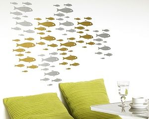 Shoal Wall Stickers - wall stickers