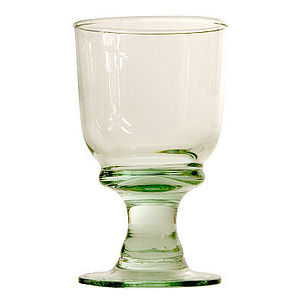 All Rounder Recycled Glass Goblet - drink & barware