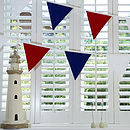 Red White Blue Bunting Life