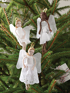 Christmas Angel - tree decorations