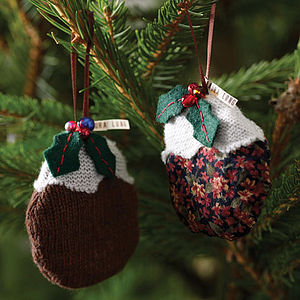 Christmas Pudding Decoration - christmas decorations