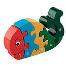 Jigsaw Wooden Whale 1-5