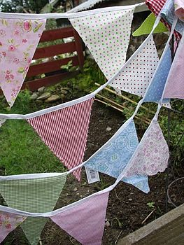 bunting detail or