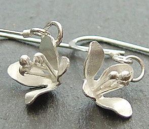 Lily Flower Hook Earrings