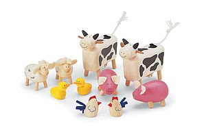 Farm Animals - traditional toys & games