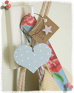 Mini Dotty Heart Decoration - shop by price