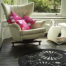 Stella rug in black