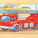 Fire Engine Close Up