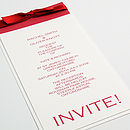 Munroe Wedding Invitation
