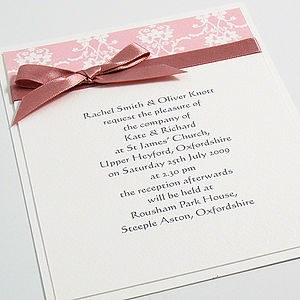 Cameron Wedding Invitations - wedding stationery