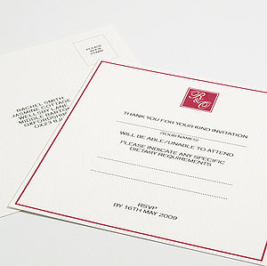 Hepburn Reply Cards