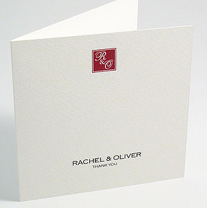 Hepburn Thank You Cards