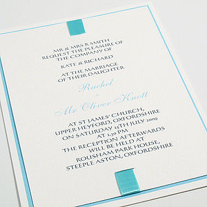 Johansson Wedding Invitations - wedding stationery
