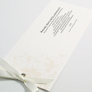 Kensington Wedding Invitation