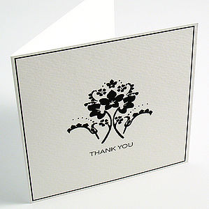 Winslet Thank You Cards