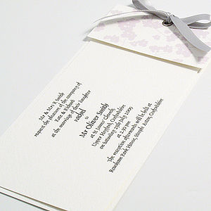 Leonardo Wedding Invitations