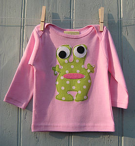 Baby Long Sleeve  Alien Top