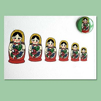Russian Doll Card
