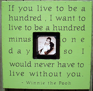 'If You Live…' Photo Frame - pictures & prints for children
