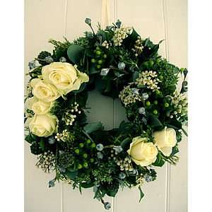 Oh So Frosty Wreath - home accessories