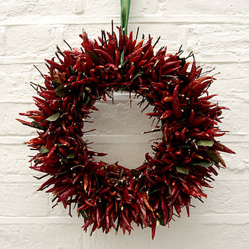 Chilli Wreath