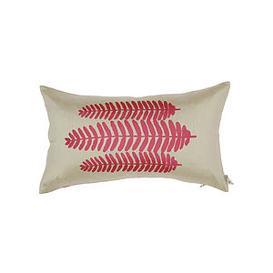 Silk Fern Oblong Cushion - cushions