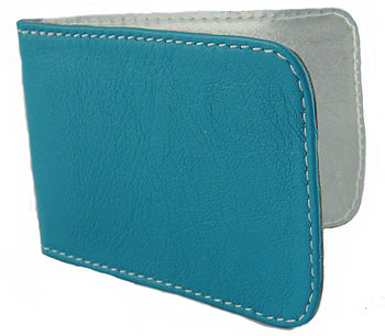 Sky Blue Travel Card Holder