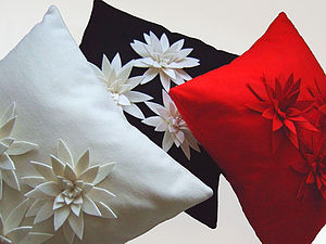 Lily Cushion - patterned cushions