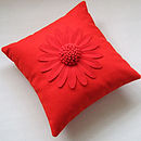 Red on Red Big Daisy