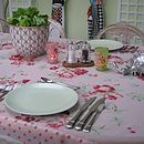 Sugar Pink Tablecloth