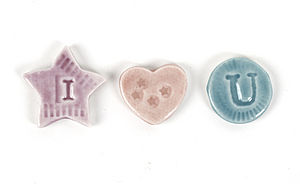 I 'Heart' U Letter Magnets - kitchen accessories