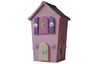 Fairy House-Pink Gingham Trim