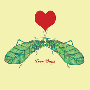 Love Bugs Card - valentine's cards