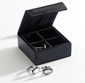 travel cufflink box