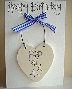 Keepsake Birthday Card