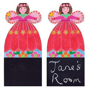 Fairy Door Plaque For You To Personalise