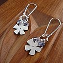 iolite bloom earrings