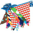 Fresh Apple Fabric Bunting