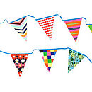Fresh Apple Fabric Bunting out