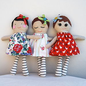 Personalised Handmade Doll - handmade toys and games