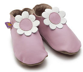 Soft Leather Baby Shoes Daisy - footwear
