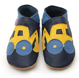Soft Leather Baby Shoes Digger - footwear