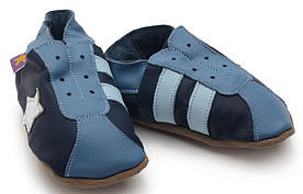 Soft Leather Baby Shoes Retro - footwear