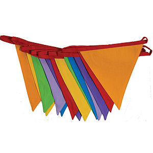 Carnival Cotton Bunting - baby's room
