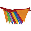 Multi-Coloured Bunting 4