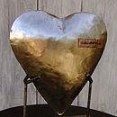'Happily Ever After' Handmade Metal Heart
