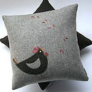 Cluck and food cushion