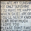 you are my sunshine e-mail