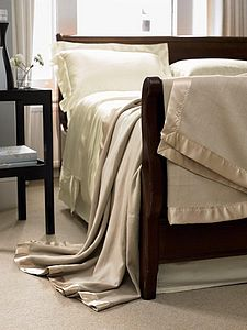 100% Silk Blanket - throws, blankets & fabric